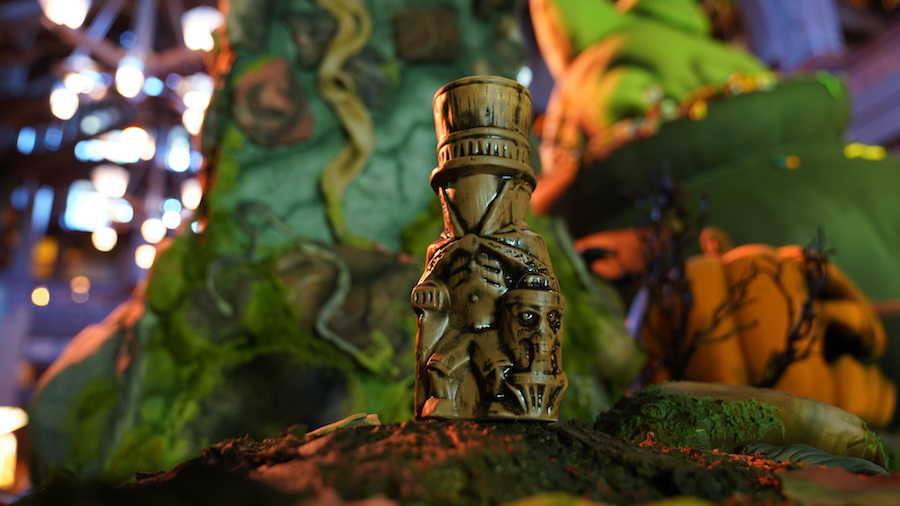 Hatbox Ghost Tiki Mug from Disneyland Resort
