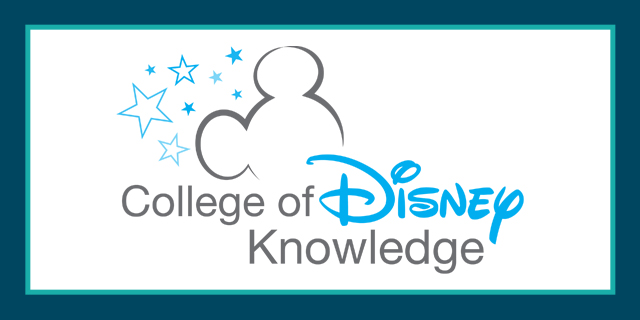 College of Disney Knowledge Assessment